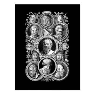 Cartão Postal Filósofos gregos