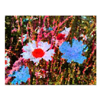 Cartão Postal Flores selvagens