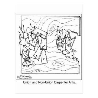 Cartão Postal Formigas de carpinteiro da Não-União