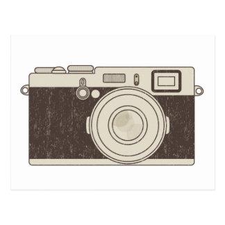 Cartão Postal Fotografia da câmera do vintage