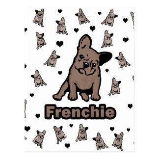 Cartão Postal Frenchie
