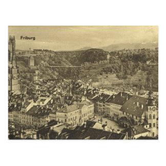 Cartão Postal Friburg, cerca de 1920