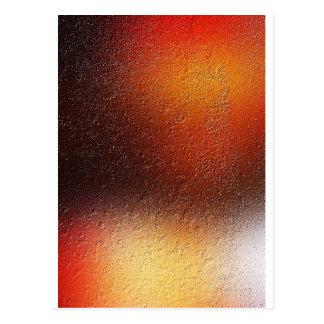 Cartão Postal fume a arte antiga abstrata Soli da forma do