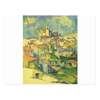 Cartão Postal Gardanne por Paul Cezanne
