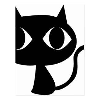 CARTÃO POSTAL GATINHO DO CAT PRETO