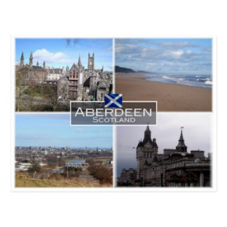 Cartão Postal GB Reino Unido - Scotland - Aberdeen -