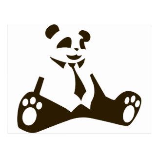 Cartão Postal Geek da panda