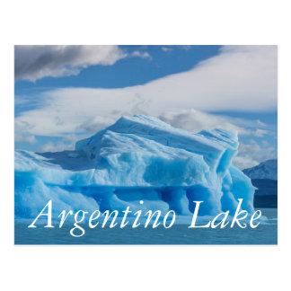 Cartão Postal Glaciars, lago Argentino
