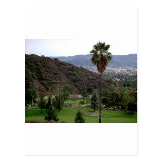 Cartão Postal Glendale sobre a cordilheira de Verdugo