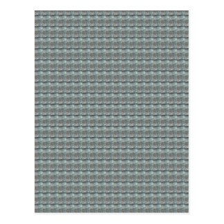 Cartão Postal Gráfico cinzento CINZENTO do teste padrão do verde