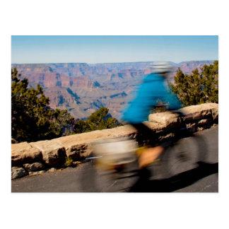 Cartão Postal Grand Canyon da bicicleta