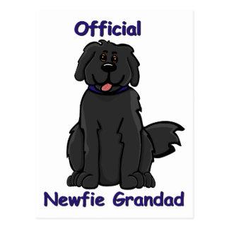 Cartão Postal grandad do newfie