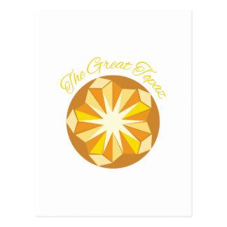 Cartão Postal Grande topázio
