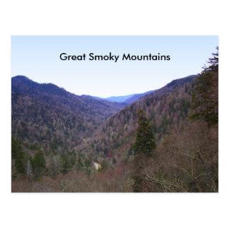 Cartão Postal Great Smoky Mountains