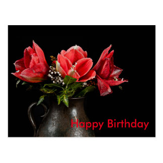 Cartão Postal Happy Birthday
