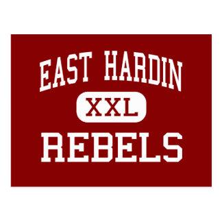 Cartão Postal Hardin do leste - rebeldes - meio - Glendale
