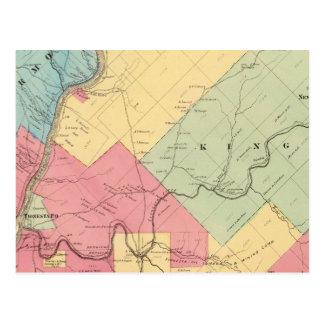 Cartão Postal Harmonia, hicória, Kingsley, distritos de Tionesta