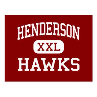 Cartão Postal Henderson - falcões - júnior - China Texas
