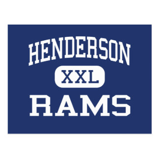 Cartão Postal Henderson força Henderson médio