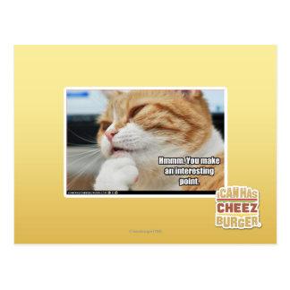 Cartão Postal Hmmm.