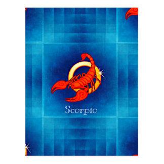 Cartão Postal horóscopo do scorpio