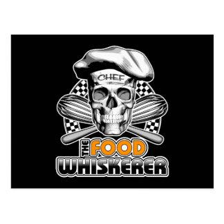 Cartão Postal Humor do cozinhar: Comida Whiskerer 6