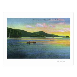 Cartão Postal Ideia da aterragem de Bolton de Canoeing dos
