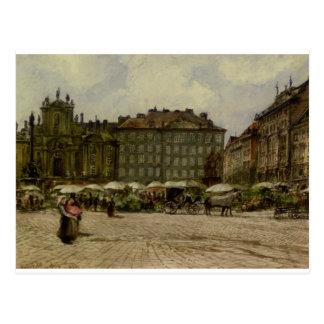 Cartão Postal Igreja de Hof no ‹Viena do †do ‹do †por Rudolf