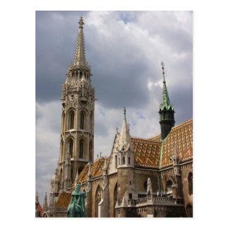 Cartão Postal Igreja de Matthias, Budapest