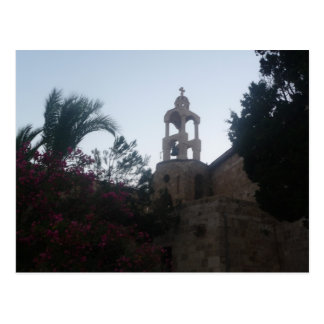Cartão Postal Igreja em Líbano
