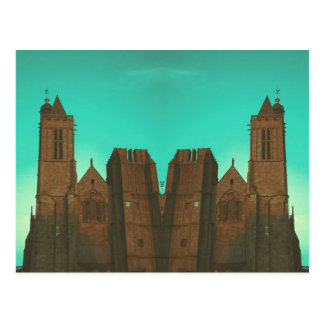 Cartão Postal Igreja espelhada