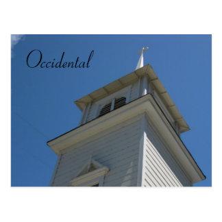 Cartão Postal Igreja - Occidental.Ca.