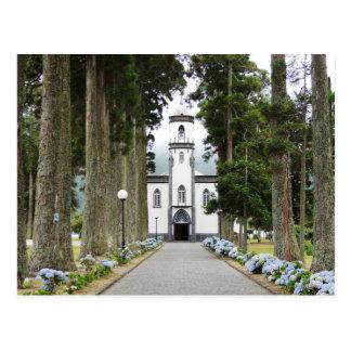 Cartão Postal Igreja portuguesa