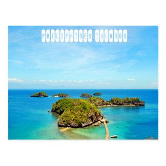 Cartão Postal Ilhas de Filipinas