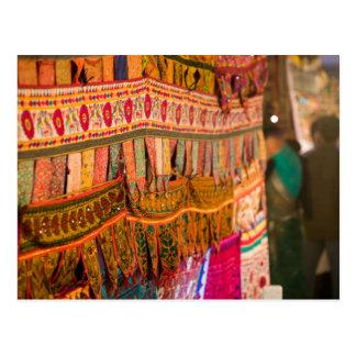 Cartão Postal INDIA, Goa, Baga: Sábado à noite mercado (NR)