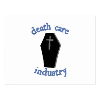 Cartão Postal Indústria do cuidado da morte