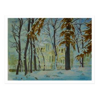 Cartão Postal Inverno de Kiev