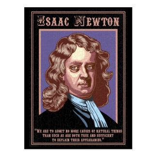 Cartão Postal Isaac Newton - causas