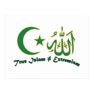 Cartão Postal Islão verdadeiro