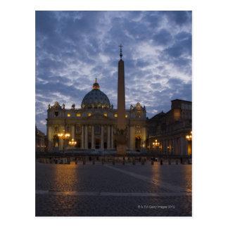 Cartão Postal Italia, Roma, Cidade do Vaticano, a basílica de St