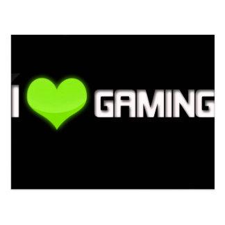 Cartão postal j Love Gaming