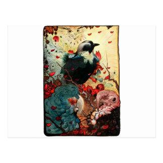 Cartão Postal Jackdaw de Edward Julius Detmold