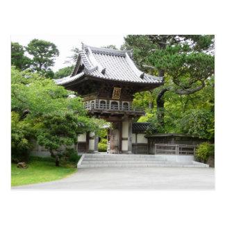 Cartão Postal Jardim de chá japonês em San Francisco