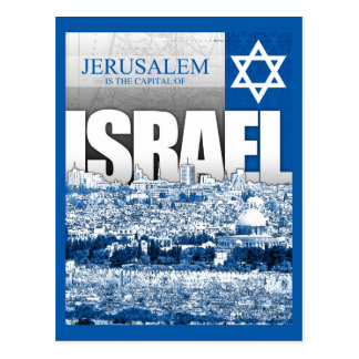 Cartão Postal Jerusalem, Israel