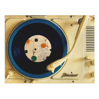 Cartão Postal Jogador gravado do vintage