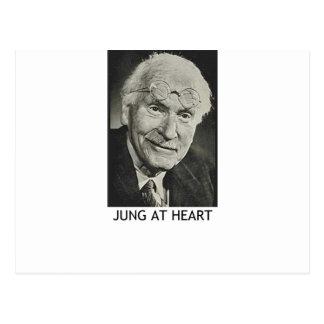 Cartão Postal Jung no coração