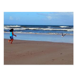 Cartão Postal Kate e a gaivota