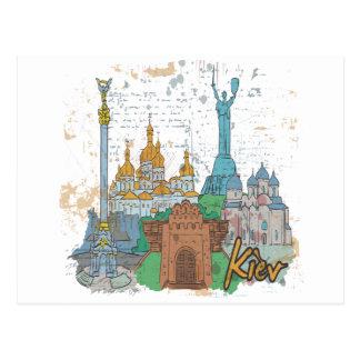 Cartão Postal Kiev