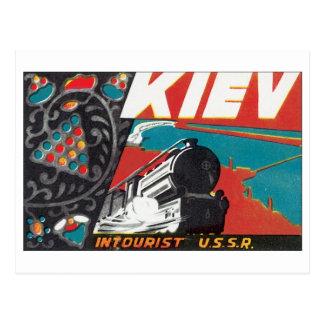 Cartão Postal Kiev Intourist URSS