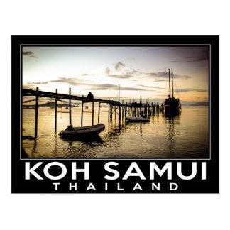 Cartão Postal Koh Samui Tailândia